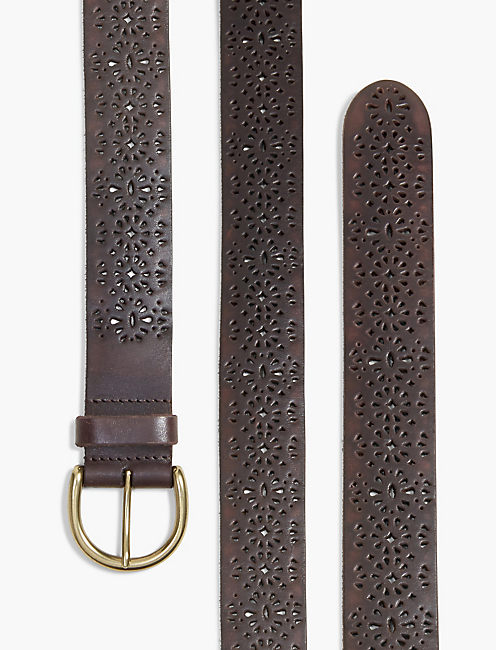 LUCKY LOMITA PERFORATED BELT