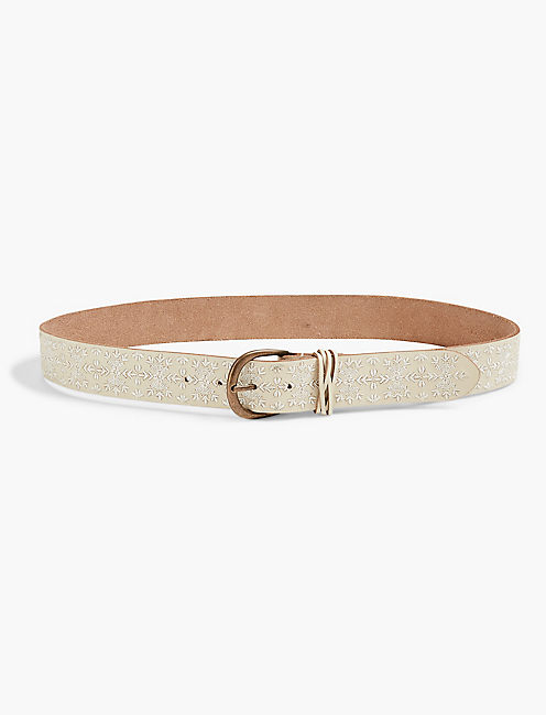 ANISE EMBROIDERED BELT,