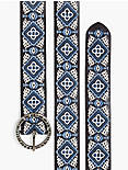 DIAMOND EMBROIDERY BELT,