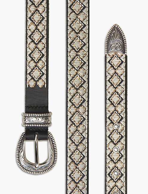 WESTERN EMBROIDERED BELT,