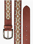 BEADED STUD MIX BELT,