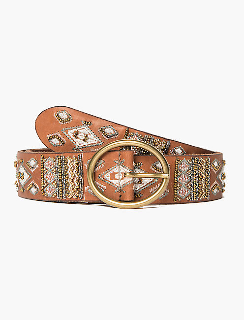 MULTI EMBROIDERED BELT, MULTI