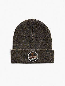 GUINNESS PATCH MARLED BEANIE