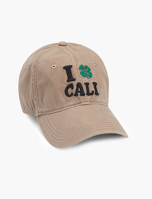 POT LUCK EMBROIDERED HAT,