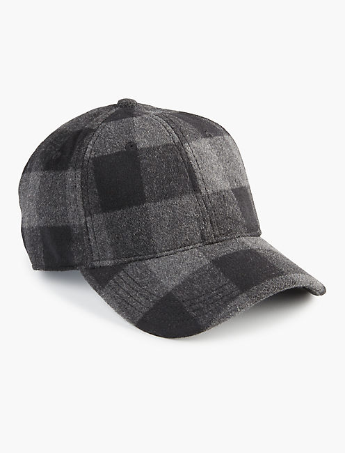 BUFFALO CHECK HAT, GREY