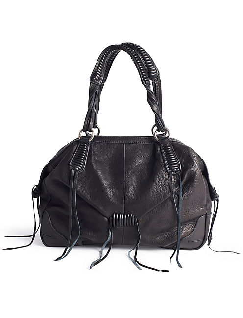 JORDANA SATCHEL, BLACK