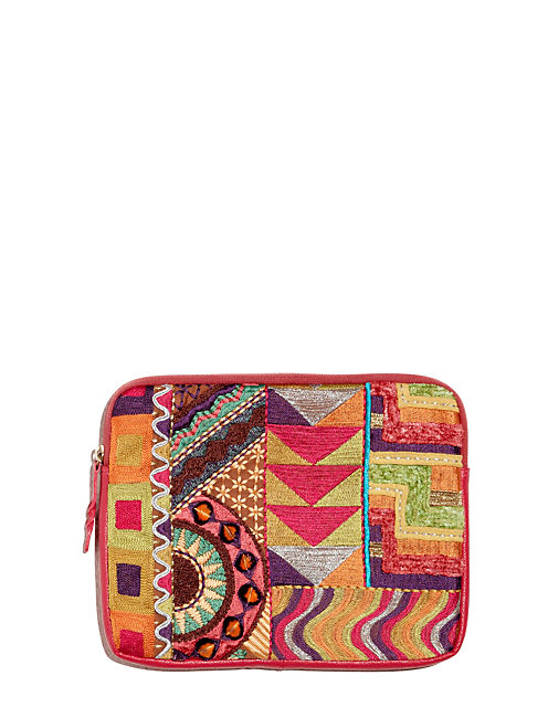 TAPESTRY ZIP SLEEVE, MULTI