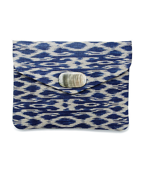 ENVELOPE STRAW CLUTCH,