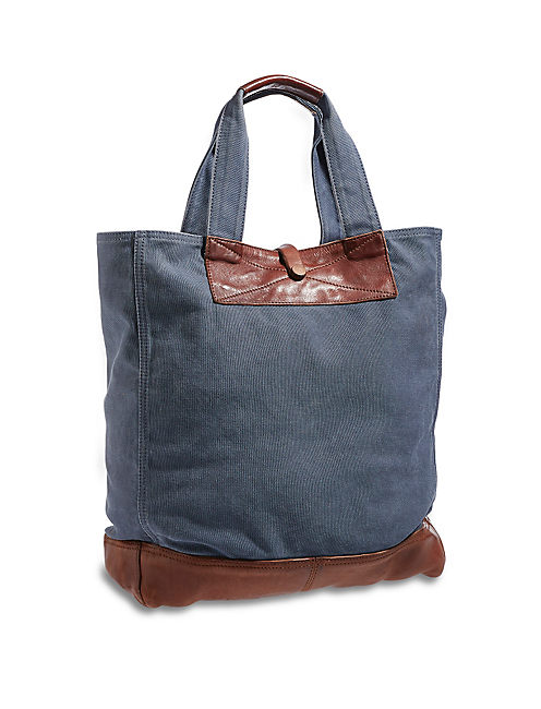 COLLECTIBLES TOTE, MEDIUM DARK BLUE