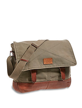 COLLECTIBLES MESSENGER BAG