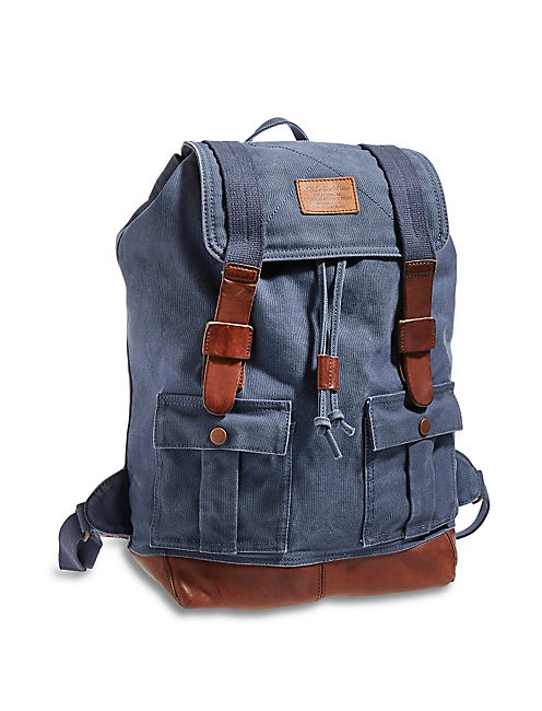 LB COLLECTIBLES BACKPACK, MEDIUM DARK BLUE