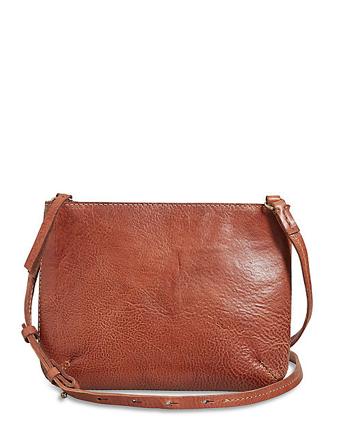 THE POINT CROSSBODY, COGNAC