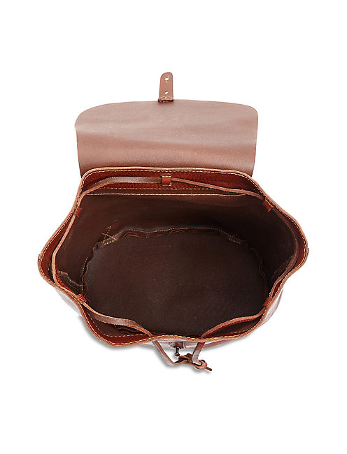POINT BACKPACK, COGNAC