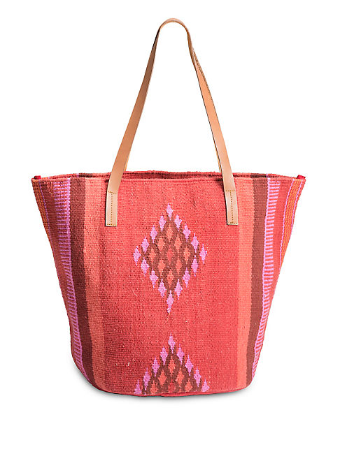 LUCKY DIAMOND PATTERN TOTE