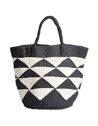 LUCKY SISAL TOTE