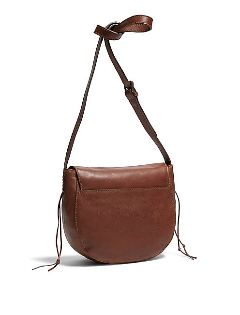 BRAIDED CROSSBODY, BROWN