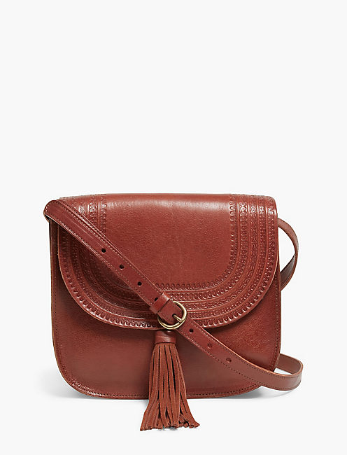 EMBOSSED POINT CROSSBODY,