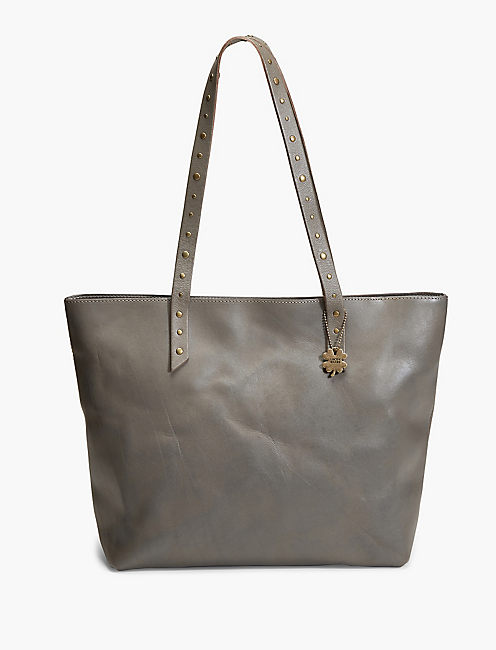 POINT TOP ZIP TOTE,