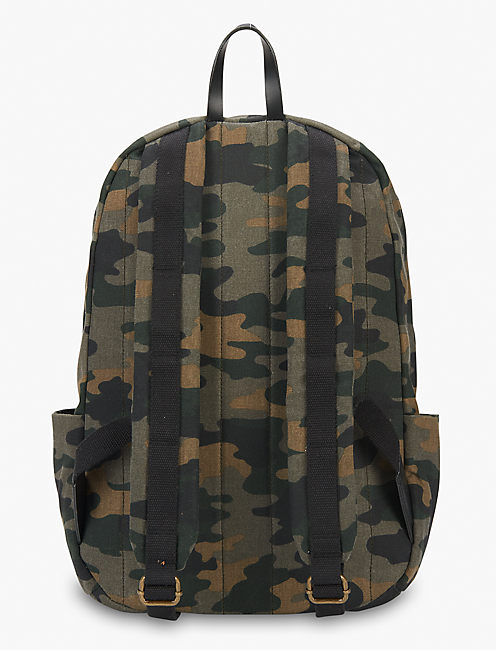 Lucky Waxed Canvas Backpack