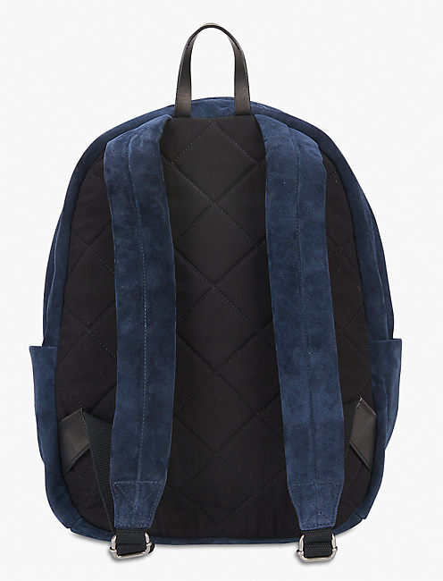 Lucky Unisex Suede Backpack