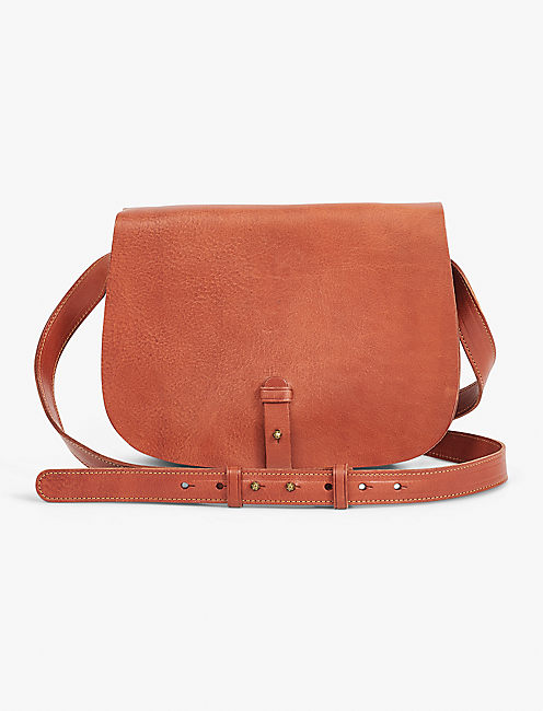 792cd4ac24af ... COGNAC THE POINT SADDLE BAG