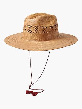 OPEN WEAVE STRAW HAT