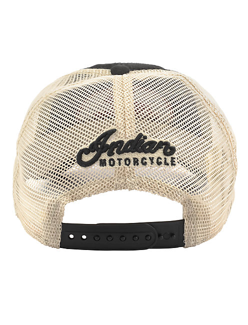 INDIAN MOTORCYCLE CAP, BLACK