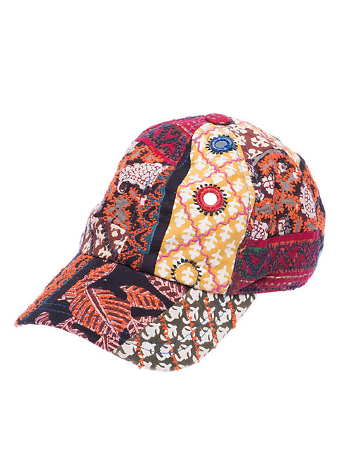 PATCHWORK BASEBALL HAT, MULTI
