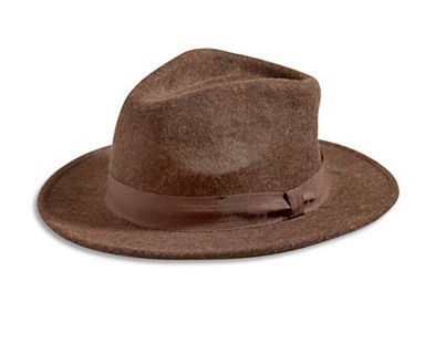 BROWN WOMEN'S HAT