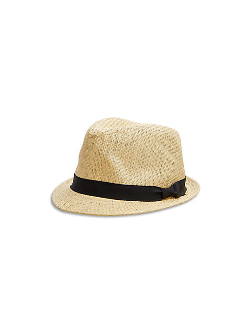 "WOMEN""S FEDORA, NATURAL"
