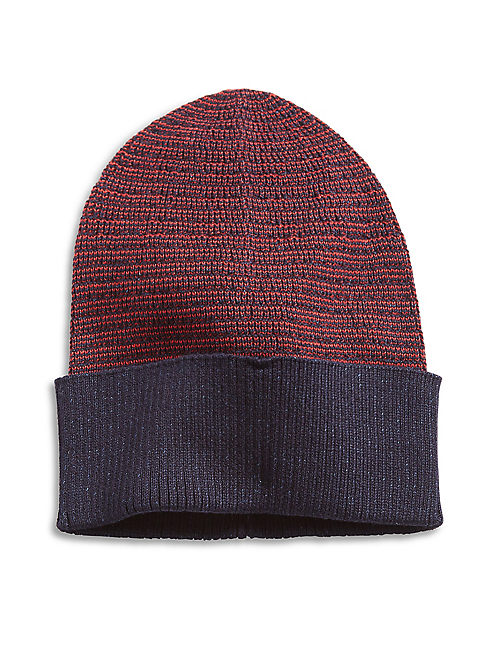 STRIPED BEANIE,