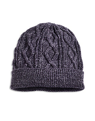 LUCKY ALAMEDA CABLE KNIT BEANIE