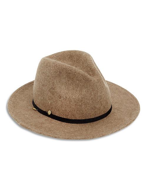 HEATHERED PANAMA HAT, #130 NATURAL