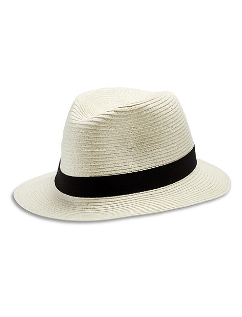 TRAVEL FEDORA, NATURAL