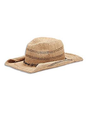 OPEN WEAVE COWBOY HAT