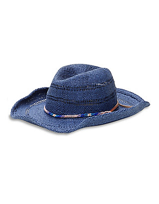 LUCKY OPEN WEAVE COWBOY HAT