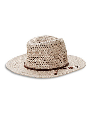 LUCKY MIXED WEAVE PANAMA HAT