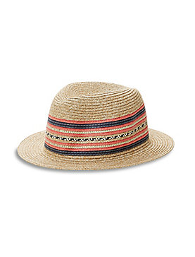 MULTI BAND FEDORA HAT