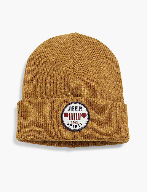 JEEP PATCH BEANIE,