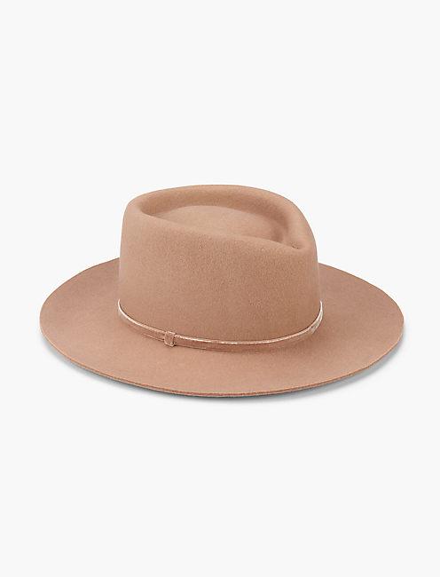 STRUCTURED WOOL HAT,