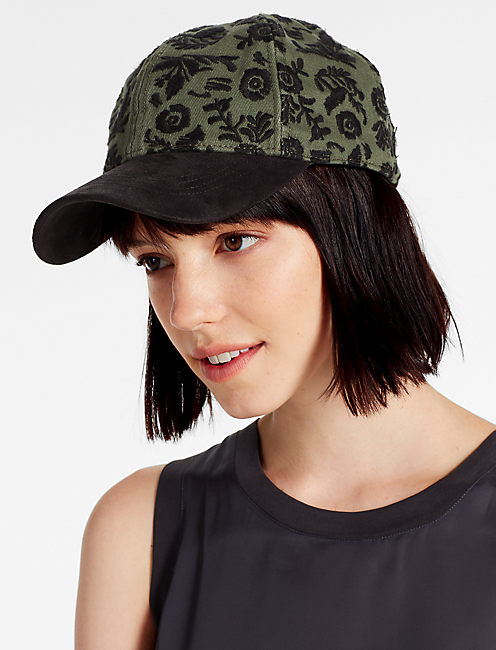 Lucky Floral Embroidered Hat