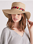 EMBROIDERED BOATER HAT,
