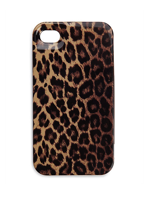 LEOPARD PHONE CASE, OXFORD