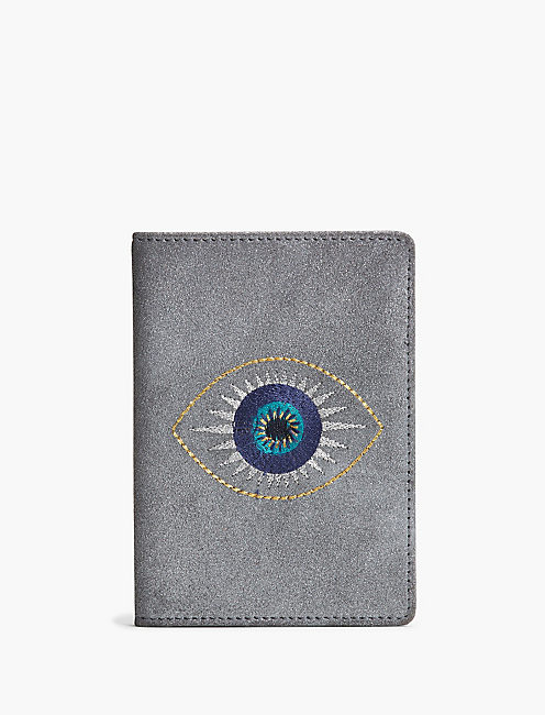 EVIL EYE PASSPORT COVER,