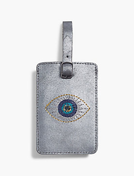 EVIL EYE LUGGAGE TAG