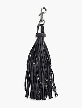 BEADED TASSLE KEY FOB