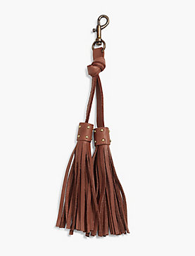 DOUBLE TASSLE KEY FOB