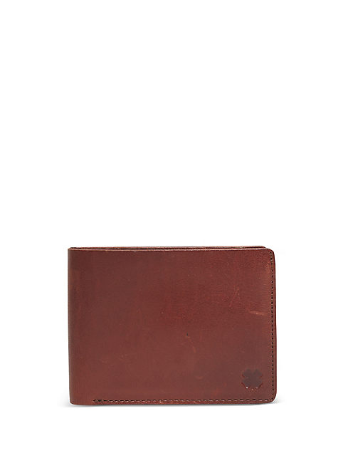 HIGHLAND LEATHER WALLET, TOBACCO