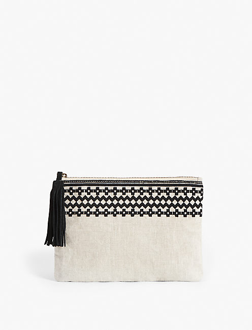 AVALON POUCH, NATURAL