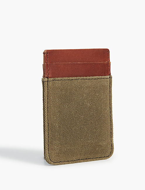 Lucky Leather Trim Card Case